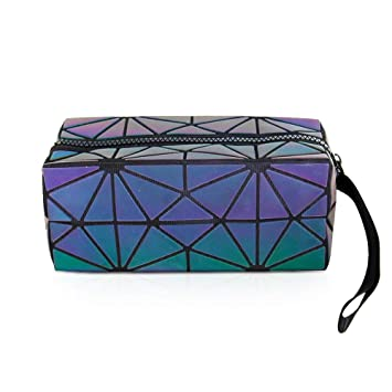 Amazon.com: Hermoso holográfico reflectante luminoso bolso ...