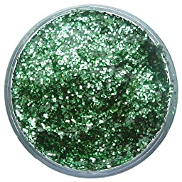 Snazaroo Face Paint 12ml Face - Body Glitter Gel, Bright Green