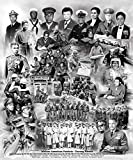 African American Patriots (A Tribute to African American Members of the United States Armed Forces) by Wishum Gregory, 11.5x8.5 inches