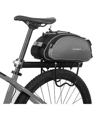 4605ea4b090 Lixada Bici Borsa Posteriore Cremagliera 13L/25L Multifunzionale Pacchetto  Zaino Borsa da Bicicletta