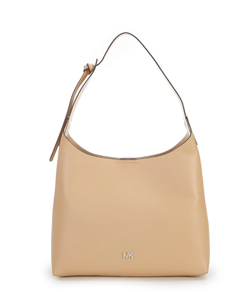 MICHAEL Michael Kors Junie Medium Leather Shoulder Bag - Butternut