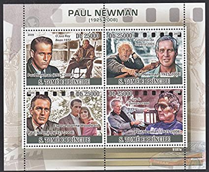 Paul Newman Collectible Postage Stamp 1950