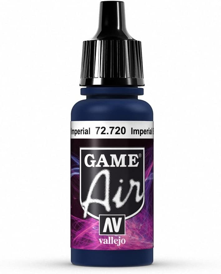 Vallejo Game Air Imperial Blue Paint