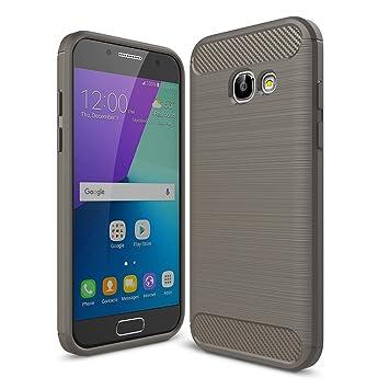 German Tech Elite Carbon - Carcasa TPU para Samsung Galaxy ...