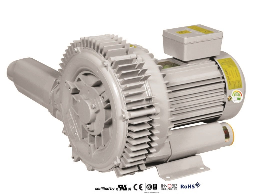 Pacific Regenerative Blower PB-102 (HRB-102), Ring, Side channel, Vacuum Pressure Blowers