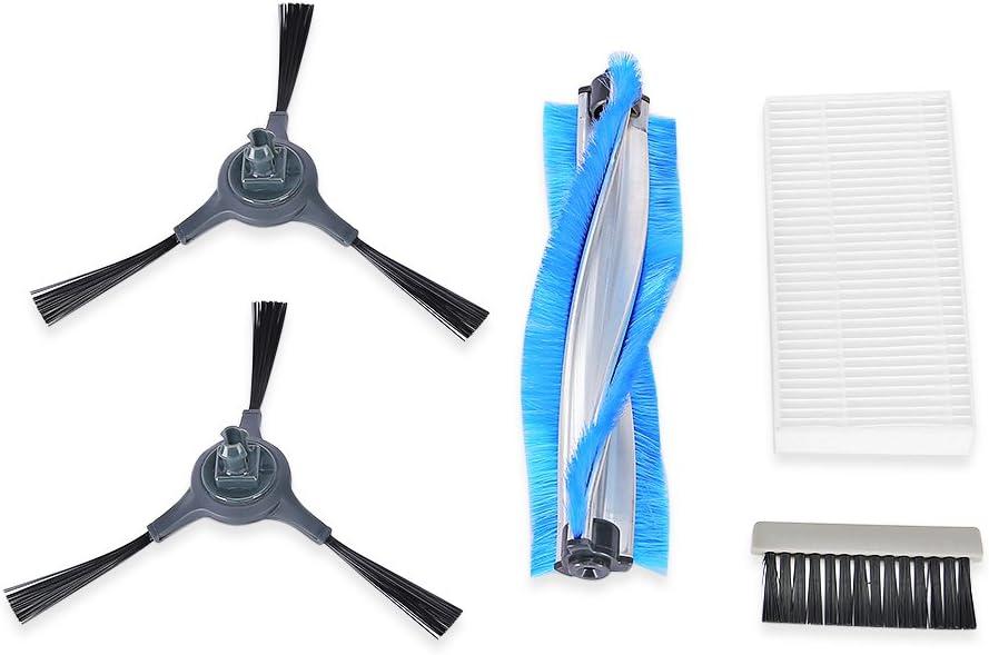INLIFE 5 Pack Robotic Vacuum Cleaner Kit de Recambio Vacuum Robot ...
