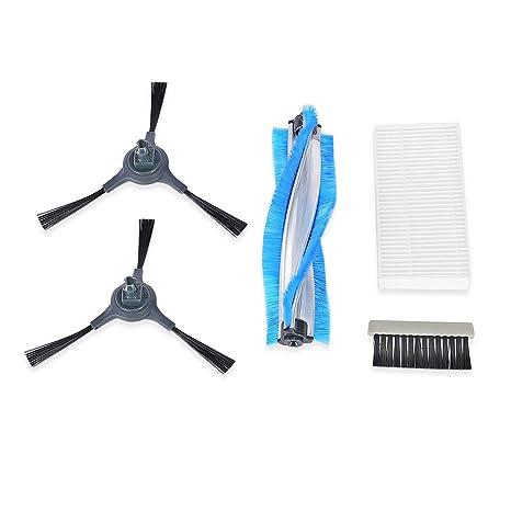 INLIFE Kit de Accesorios i7 Robot Aspirador, 2 x Cepillo Lateral, 1 x Cepillo