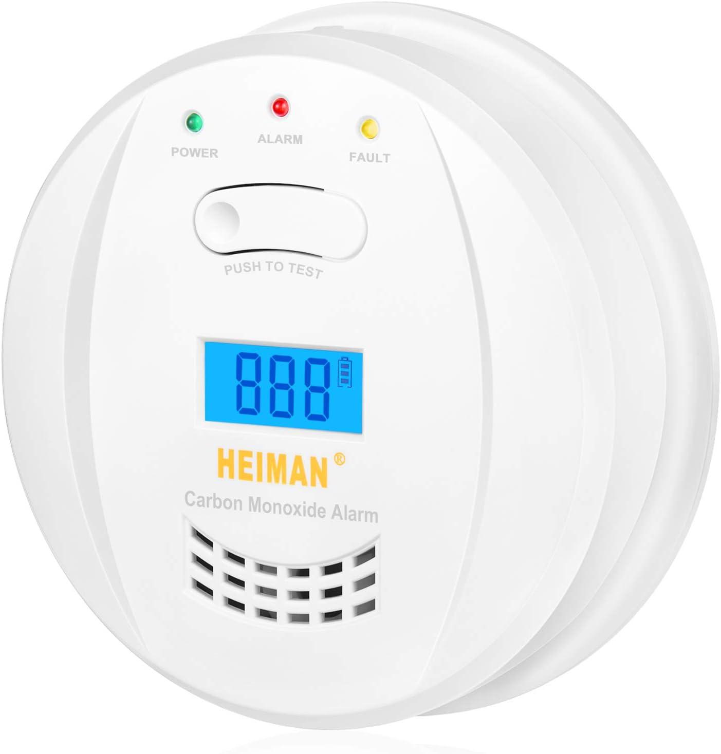 CO Alarm Detector 10 Scondaor Carbon Monoxide Alarm Detector EN 50291 Certified