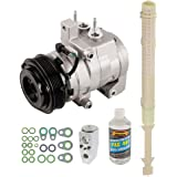 AC Compressor w/A/C Repair Kit For Ford F-150 2001 2012