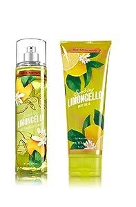 Bath & Body Works ~ Signature Collection ~ Sparkling Limoncello~ Gift Set~ Fine Fragrance Mist & Ultra Shea Body Cream