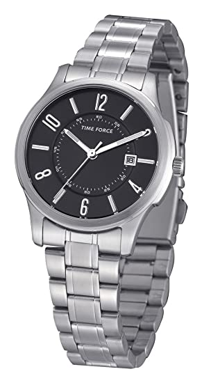 Time Force tf4009l01 m – Reloj de pulsera, correa de acero inoxidable color plata