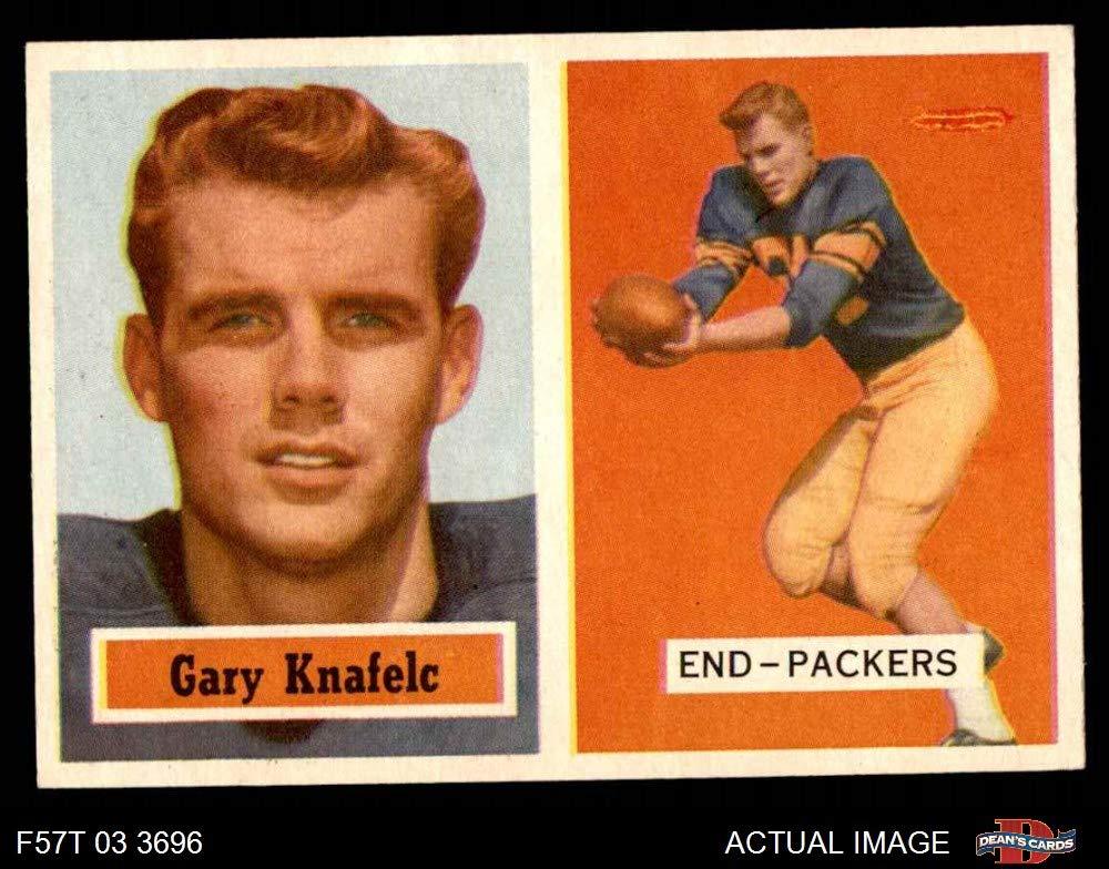 1957 Topps #45 Gary Knafelc Green Bay Packers Football Card