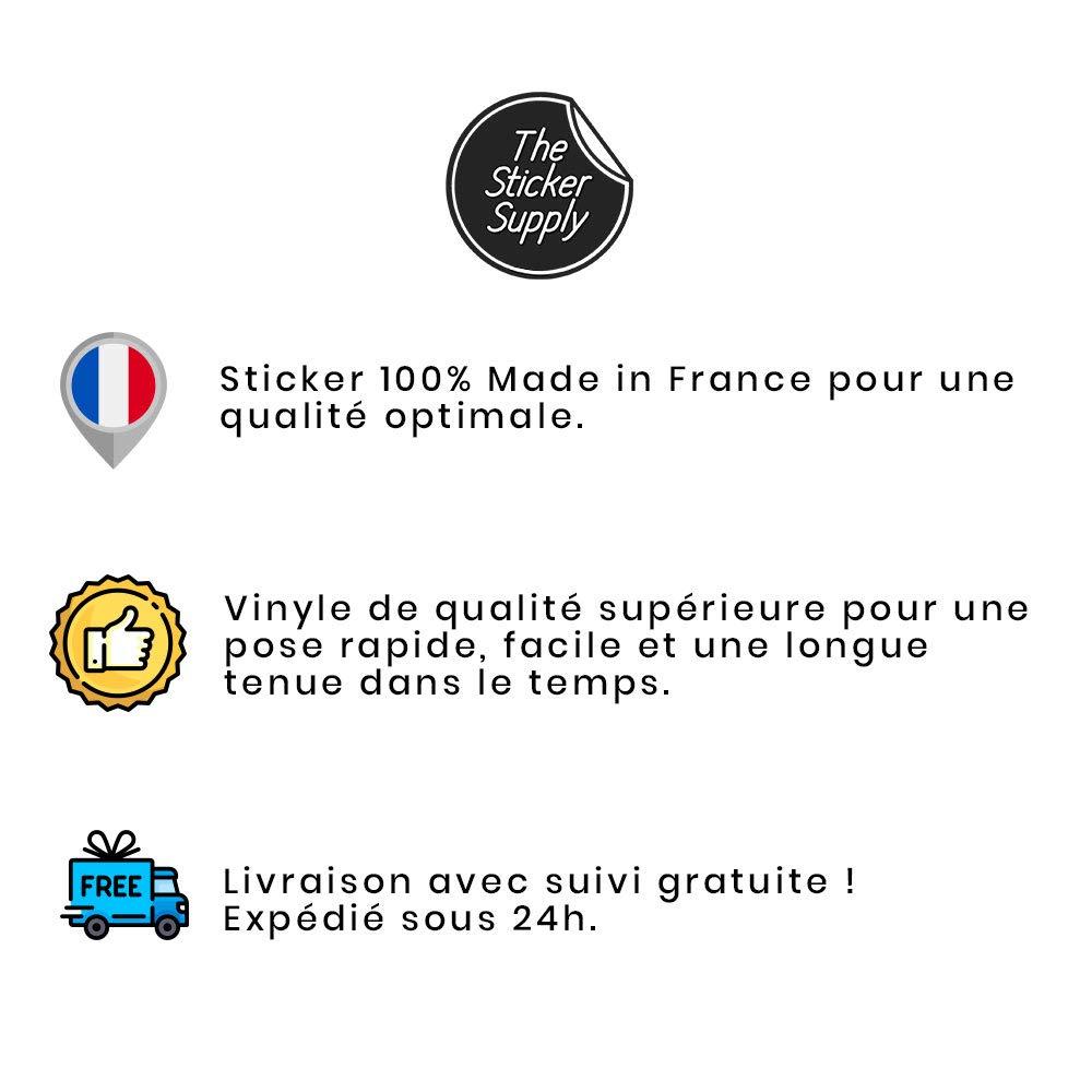 Sticker Macbook Pro 13, Sticker Macbook Air 11, Sticker Macbook 15, Sticker Mac, Autocollant Macbook, Autocollant Apple, Macbook Air 13 Combi Van Surfeur The Sticker Supply Sticker Macbook