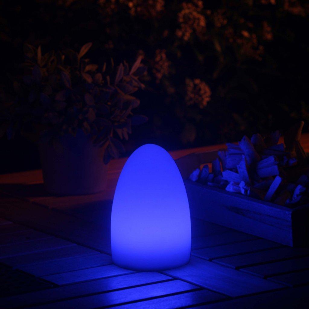 SMZ2562451 Smooz Tischleuchte Egg mit einstellbarem RGB-Farbwechsel 178907 Velleman
