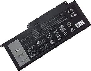 Dentsing 58WH F7HVR Battery for DELL Inspiron 15-7537 14-7437 17-7737 17HR-1728T 14.8V
