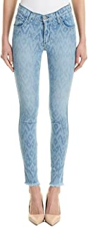 product image for James Jeans Women's James Twiggy 5-Pocket Legging Jean in Splash Ikat