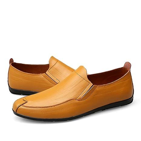 Tacco Piatto Con Da Uomo ShoesMocassino Di Xiazhi Stile 0nvO8mwN