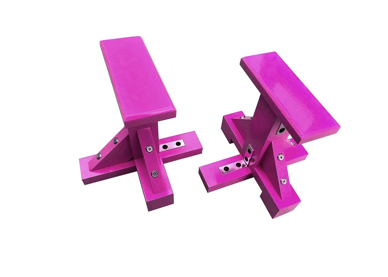 Quest Bespoke Pair of Mini Gymnastic Handstand Acro Pedestals