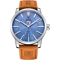 BENYAR Watches Classic Fashion Waterproof Date Elegant Casual Sport Leather Band Wrist Watch for Men