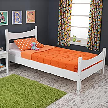 Amazon.com: Sauder Parklane Twin Platform Bed with ...