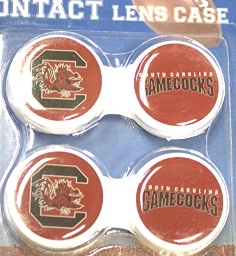 South Carolina Gamecocks Contact Lens Case 2 Pack by California Accessories