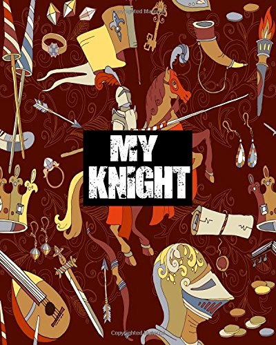 My Knight: Blank Sticker Book For Kids. Stickers book Collecting Album (Volume 11)