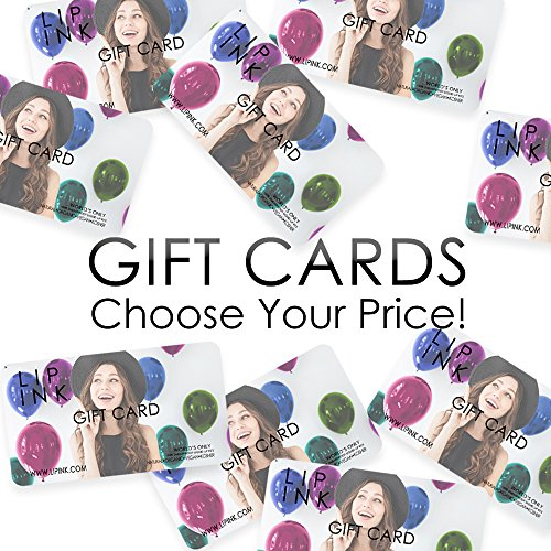 (LIP INK Gift Card - Organic Vegan 100% Smearproof Cosmetics)
