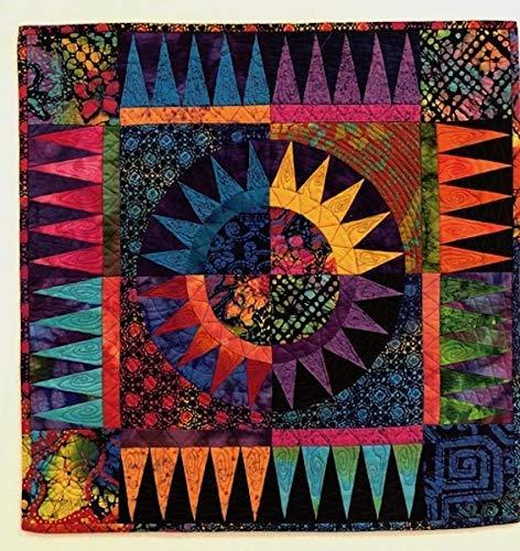 CITRUS lap quilt Lap Quilt Wall hanging 61x70 Quilt