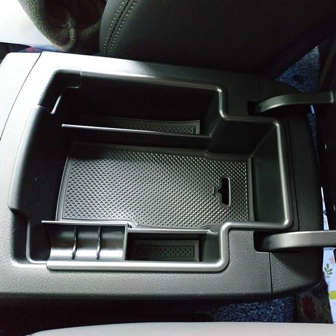 Lfotpp Mittelkonsole Aufbewahrungsbox Für Ssangyong Korando Mittelarmlehne Handschuhfach Armlehne Organizer Center Console Armrest Storage Box Innen Auto