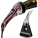 Cooko Wine Aerator,Wine Pourer,Quick Aerator,Exquisite and Practical Wine Decanter,Wine Accessories for Hiking,Camping or Party