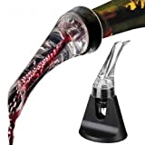 Cooko Olecranon Wine Aerator, Wine Pourer, Quick Aerator,Exquisite and Practical Wine Decanter, Easy to Carry for Hiking,Camping or Party.