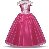 فستان تنكري للفتيات من يالا بيبي للفتيات الصغار ليبدون كالأميرات - 90 - 140 سم لعمر 3 إلى 12 سنة لحفلات أعياد الميلاد…