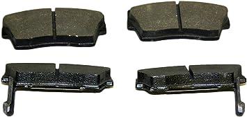 Monroe DX418 Dynamic Premium Brake Pad Set Tenneco