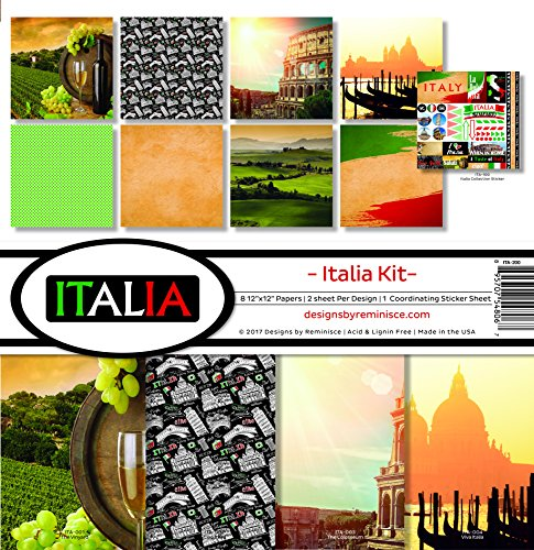 (Reminisce Italia Scrapbook Collection)
