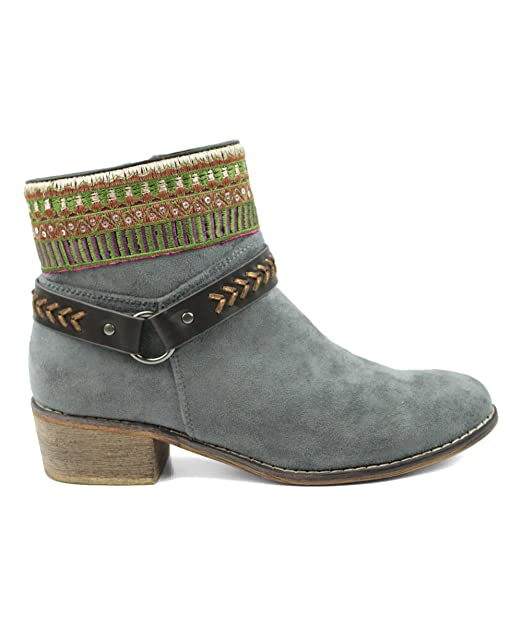 new high quality good texture stable quality Amazon.com: Colorful Embroidery Buckle Detail Chic Women's Vegan ...