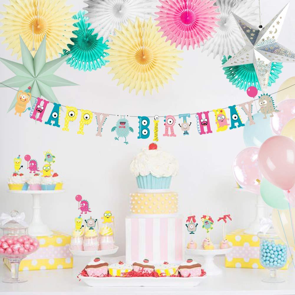 SUNBEAUTY Palloncini Foil Happy Birthday Compleanno Oro Rosa Decorazione Palloncino Oro Rosa Set Deco Compleanno Palloncini Oro Rosa