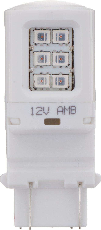 Philips 4157 Ultinon LED Bulb 2 Pack Amber