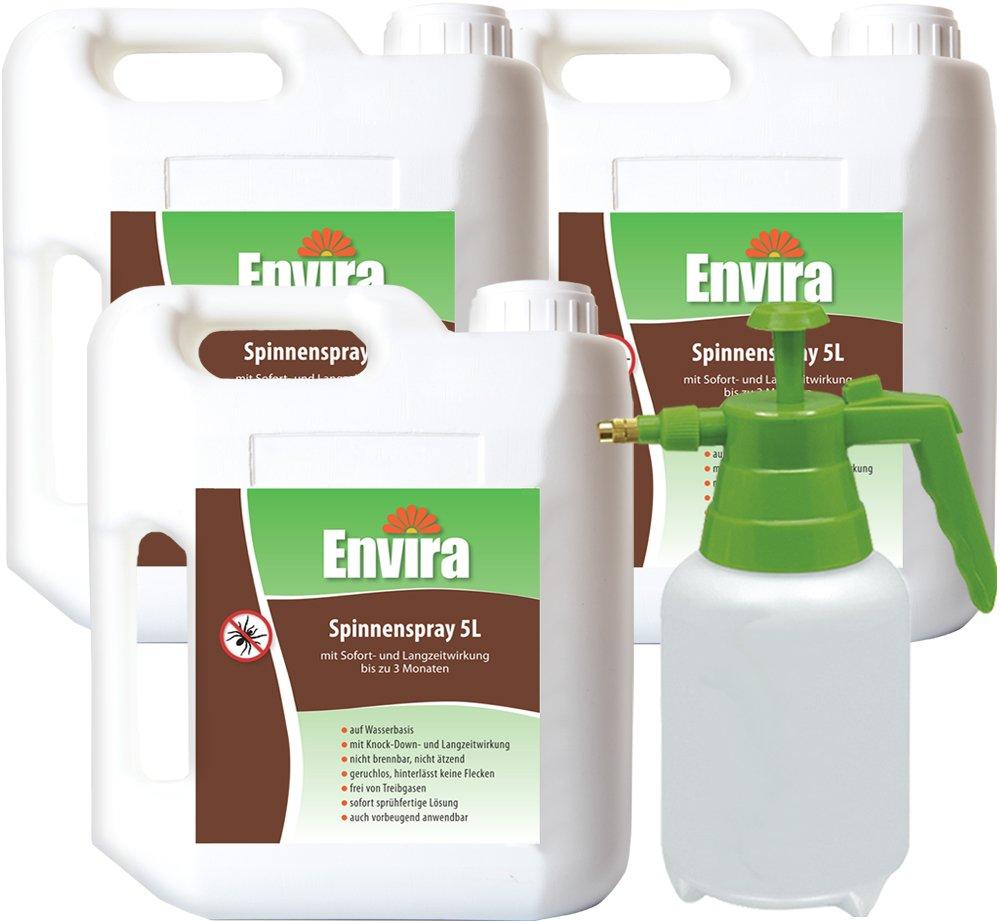 ENVIRA Spinnenspray 3x5Ltr+2Ltr Sprüher