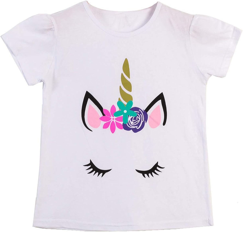 Baby Girls T Shirt Tops Fashion Animal Shirts