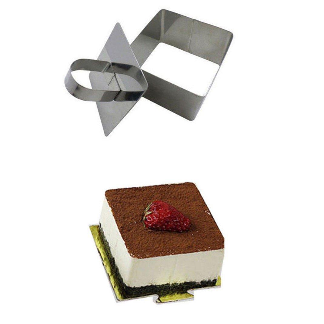 Molde para tartas de acero inoxidable para galletas, moldes ...