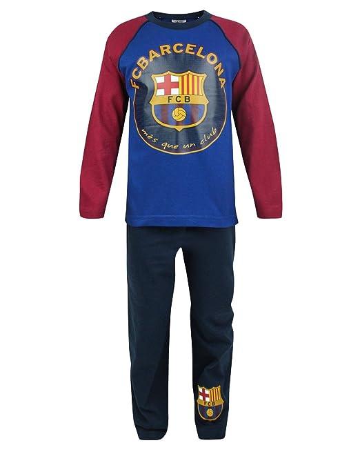 Niño - Official - FC Barcelona - Pijama (9-10 Años)  Amazon.es  Ropa ... d95e81a05da