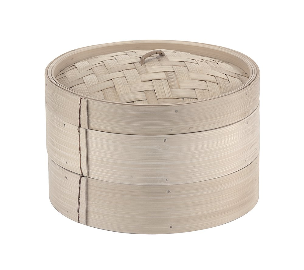 Paderno World Cuisine juego de recipientes de bamb/ú 6 1//4in gris