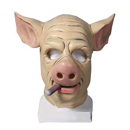 Nihao Juego H1z1 Máscara Cerdo Principiante Funny Halloween Funny Casco Cap Plague Bird Máscara Doctor Mask