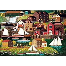 Buffalo Games The Cambridge by Charles Wysocki-2000 Piece Jigsaw Puzzle by Puzzle