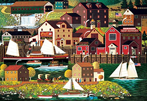 Buffalo Games - Charles Wysocki - The Cambridge - 2000 Piece Jigsaw Puzzle