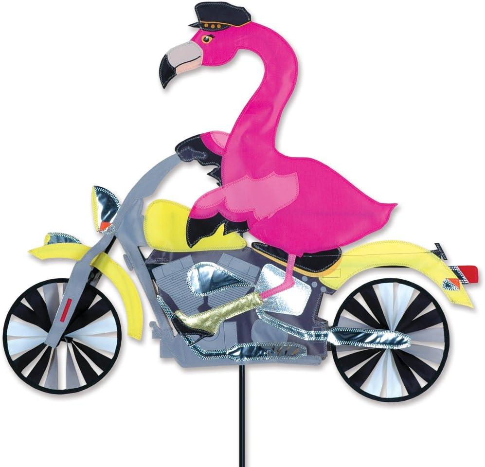 Premier Kites Flamingo Motorcycle Spinner