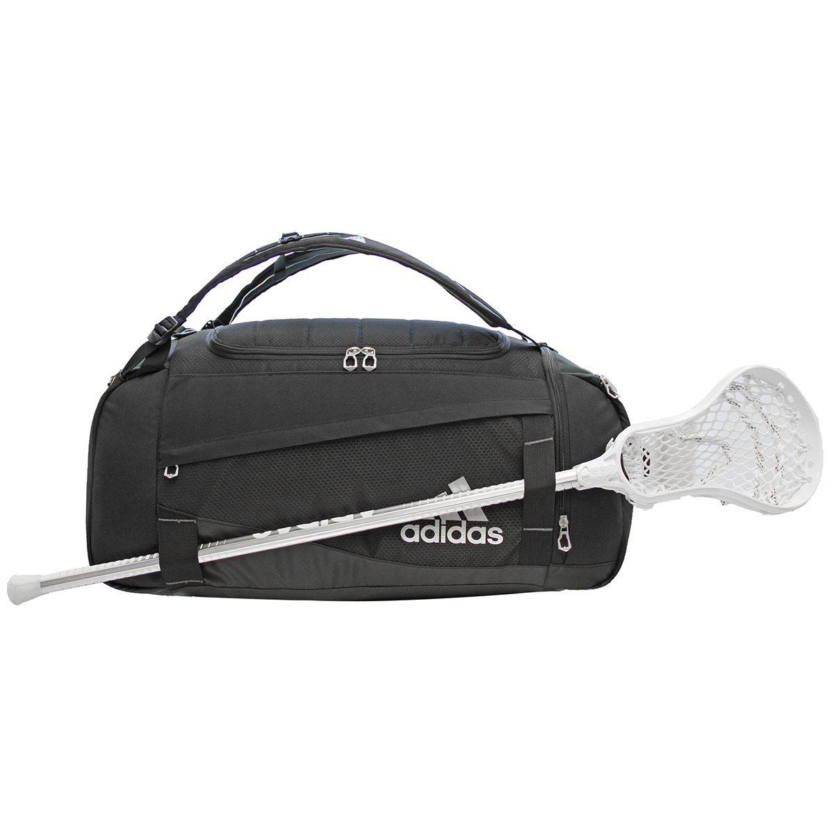 Utilidad: adidas unisex unisex unisex mochila de lona lacrosse, negro f867e0