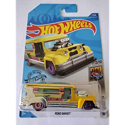 Hot Wheels 2020 Hw Metro Road Bandit, 7/250 Yellow: Toys & Games