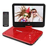 """TENKER 12.5"""" Portable DVD Player with Swivel"""