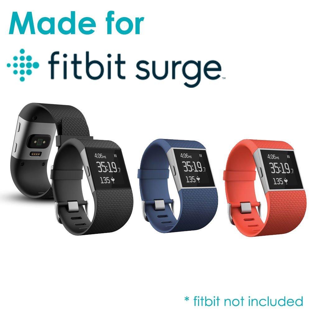 Chargeur Fitbit Surge TECHGEAR/® C/âble Chargeur USB pour Montre de Remise en Forme Fitbit Surge Smart